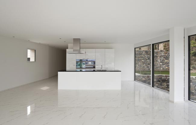 floor tiling kitchen