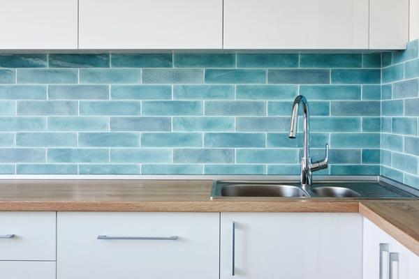 kitchen splashback tiling perth
